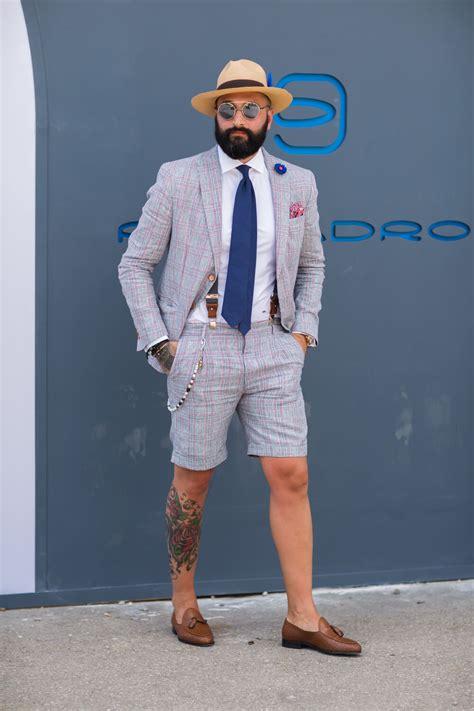 Pitti Uomo 90 Mens Summer Outfits — Gentlemans Gazette