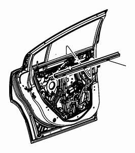 Dodge Charger Weatherstrip  Door Belt Inner  Rear Door