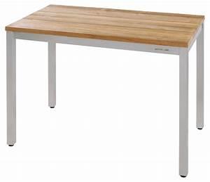 Tisch 40 X 60 : zebra naxos tisch 60 x 100 cm edelstahl teak recycelt online kaufen bei talaso talaso ~ Bigdaddyawards.com Haus und Dekorationen