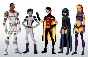 Young Justice Teen Titans Go