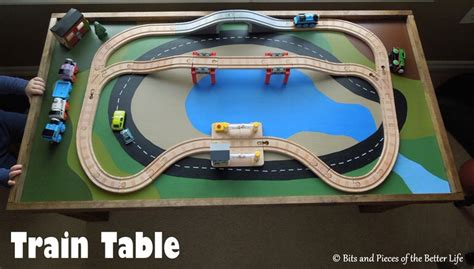 train table set for 2 year old 25 cute things to make for kids 2 12 years old tip junkie