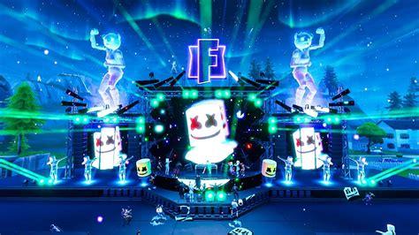 fortnite marshmello event full gameplay  concert