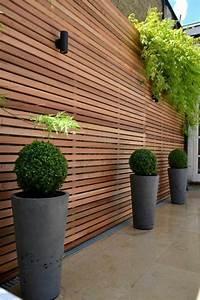 Sichtschutzzaun 2 50 M Hoch : cl tures et palissades de jardin modernes ~ Bigdaddyawards.com Haus und Dekorationen