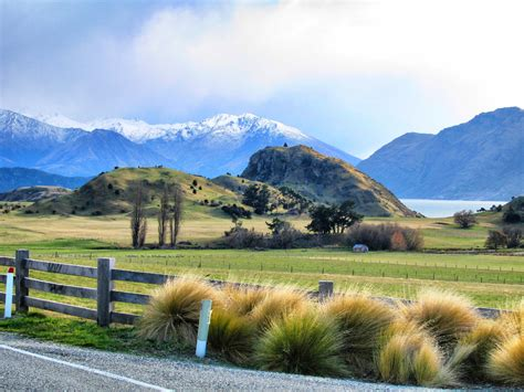 New Zealand Landscape Vagabonding Pinterest