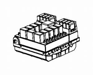 Ram Promaster 1500 Fuse Box  3 0 Liter  W  Ac  Wac