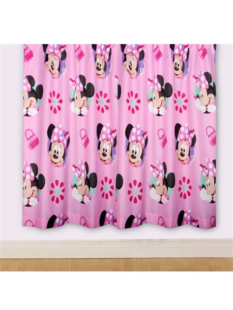 Mickey And Minnie Mouse Bedroom Curtains by Minnie Mouse Curtains And Blinds