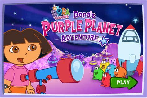 aventura en el planeta morado  dora juegos infantiles
