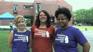 Hampshire College • Move In Day 2011 - YouTube