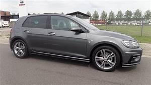 Golf Gris Indium : volkswagen new golf gp r line 2018 2 0 tdi indium grey full option special delivery youtube ~ Medecine-chirurgie-esthetiques.com Avis de Voitures