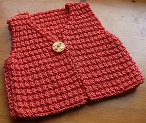 Modele De Tricotin Facile : tricoter un gilet bebe facile ~ Melissatoandfro.com Idées de Décoration