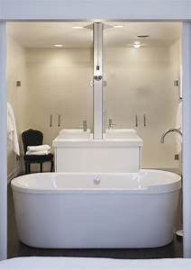 Back, To, Back, Vanities, -, Contemporary, -, Bathroom