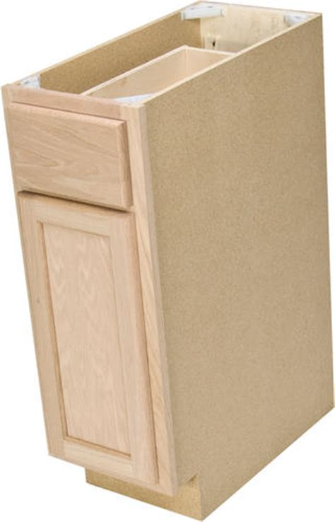 unfinished bathroom cabinets menards quality one 12 quot x 34 1 2 quot unfinished oak base cabinet