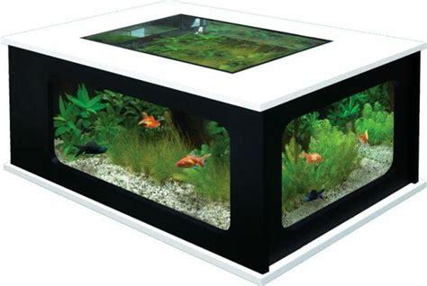 table basse aquarium design images