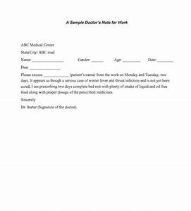 25+ Free Doctor Note  Excuse Templates  Template Lab