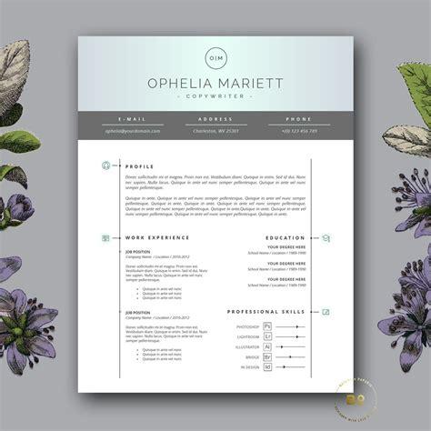 Modern Resume Design by Modern Resume Template Cv Design Resume Templates
