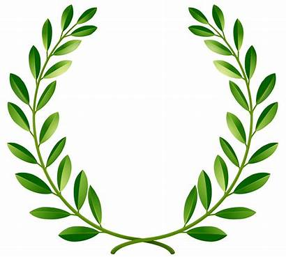 Wreath Leaf Clipart Clip Laurel Leaves Clipartmag