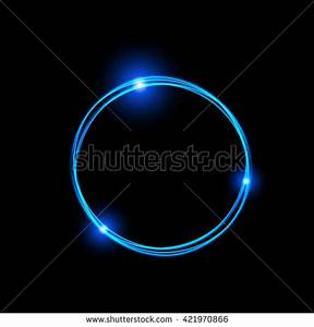 Neon Circle Stock Royalty Free & Vectors