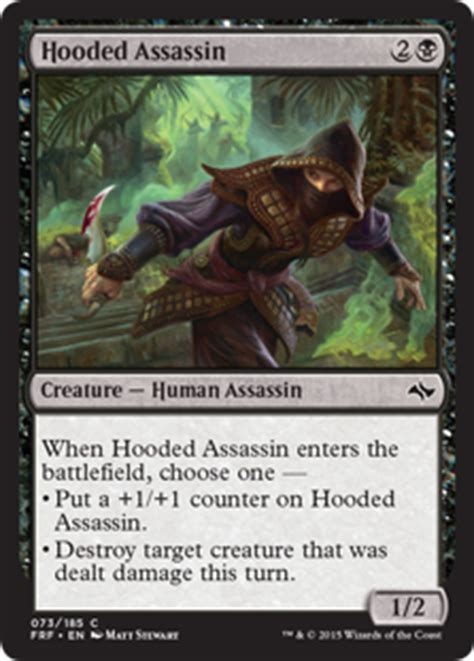 Mtg Rogue Assassin Deck by Card Search Search Assassin Gatherer Magic The