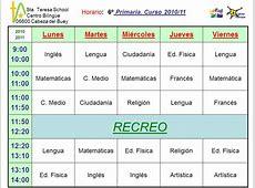 blog de clase GESTION DE LOS TIEMPOS ESCOLARES