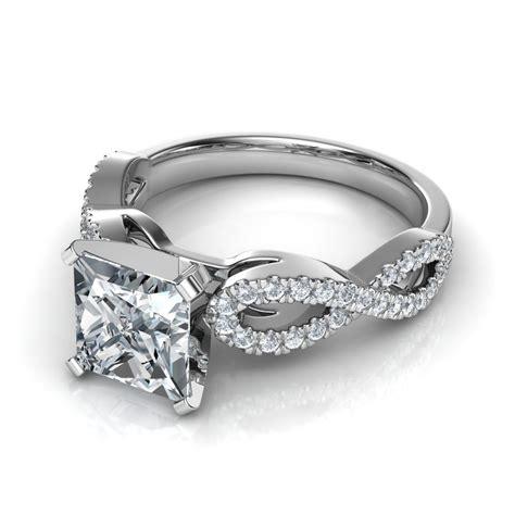 Infinity Design Cushion Cut Diamond Engagement Ring. Little Diamond Engagement Rings. Gold Wedding Rings. Three Banded Wedding Rings. Sport Rings. Affordable Wedding Rings. Custom Wood Wedding Rings. Rounded Square Engagement Rings. Piece Rings