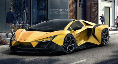 Lamborghini Car : The Lamborghini Forsennato Would Be A Proper Raging Bull