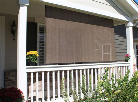 exterior patio shades silver series outdoor sun shades blindsshopper