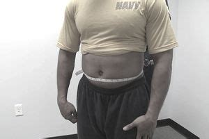 body fat measurement system   military