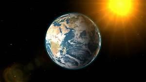 Earth Sun And Moon 3d