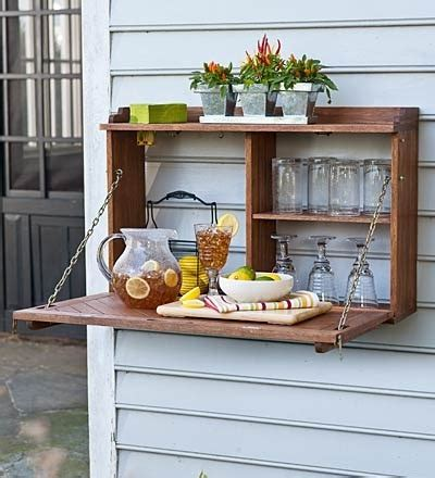Totally DIY-able Outdoor Flip-Down Sideboard » Curbly