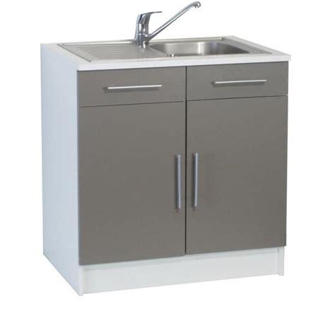 meuble de cuisine avec evier meuble de cuisine avec evier inox cuisine idées de