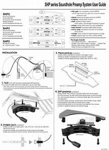 Artec Soundhole Preamp Soundhole Passive Controller Model Shp2