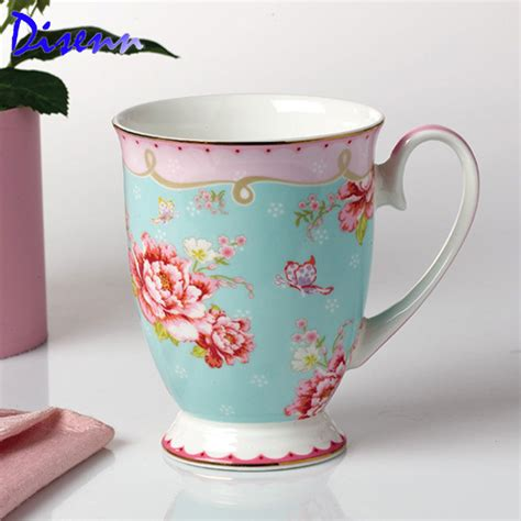 floral coffee mugs buy floral bone china from china floral 1019