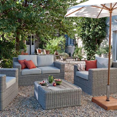 Castorama  30 nouveautu00e9s pour la terrasse et le jardin  Salon Praslin - Castorama - Du00e9co ...
