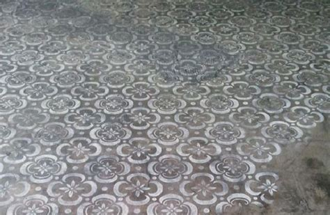 AphroChic: 15 Stenciled Concrete Floors To Amaze You