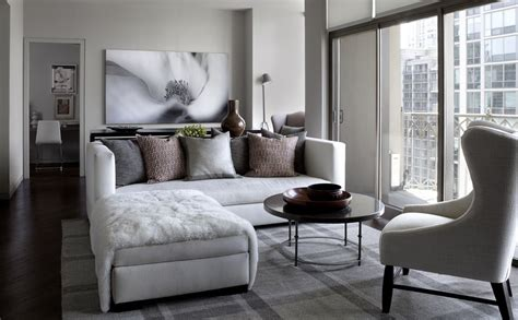 Interior Design Ideas For Living Room by 35 Chic Gray Neutral Living Spaces City Condo Home