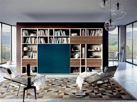 die moderne wohnwand ist praktisch und bietet viel