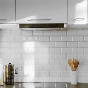 White Kitchen Tiles - Design Decoration