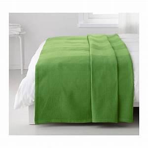 Couvre Lit Vert : indira couvre lit vert coton tiss lits et coton ~ Teatrodelosmanantiales.com Idées de Décoration