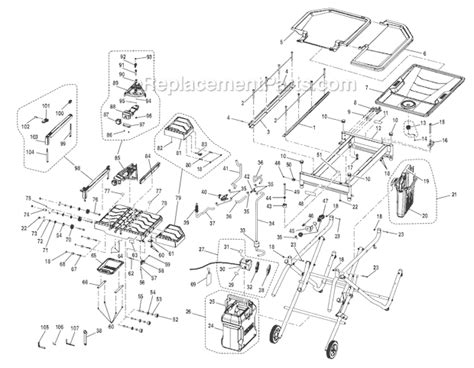 ridgid r4010 parts list and diagram ereplacementparts com
