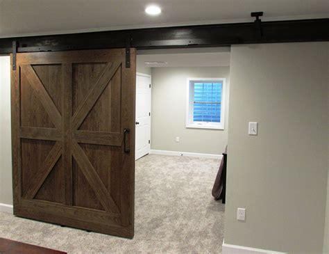 great   rolling barn doors  existing steel beam