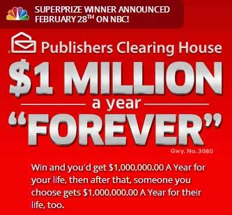 publishers clearing house customer service car interior who won publishers clearing house 5000 a week forever