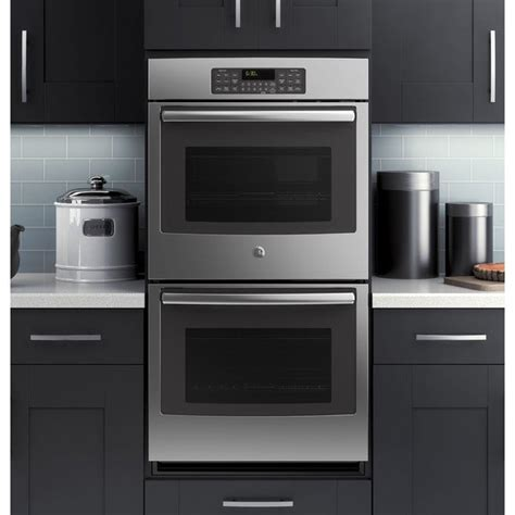 shop ge   stainless steel built  double wall oven  shipping today overstock