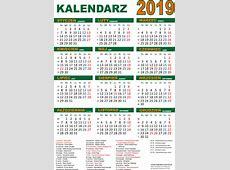 Kalendarz na 2019 rok do druku pdf Edukacyjne bajki do czytania