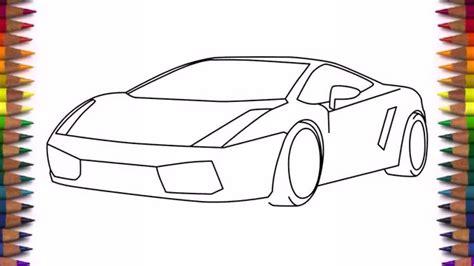 simple car drawing step step  getdrawingscom