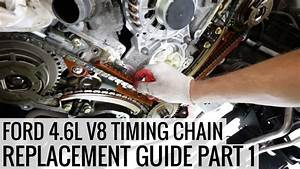 How To Replace The Timing Chain 4 6l Ford V8 Pt 1