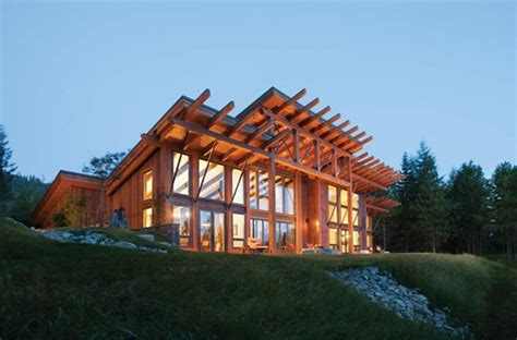 modern log timber frame homes plans precisioncraft