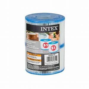 Intex Filterkartusche Typ A : intex 29001 filterkartusche typ s1 2er pack ~ Watch28wear.com Haus und Dekorationen