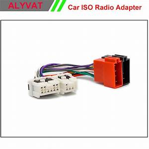 Car Iso Stereo Wiring Harness For Nissan Almera Micra