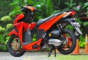 Contoh Modifikasi Honda Vario 150 Esp Tampilan Sporty Dan