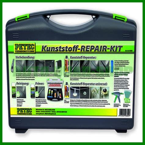 kunststoff kleben auto kunststoff repair kit petec kleben kleben